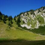 Schönfeldalm und Übergang zwischen den Gipfeln ©Gipfelfieber