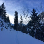 Spuren im Schnee ©Gipfelfieber