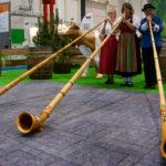 Das Alphorn-Trio Heide Echo ©Gipfelfieber