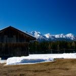 Kirmlehof und Dolomiten ©Gipfelfieber