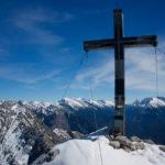 Gipfelkreuz der Ahrnplattenspitze ©Gipfelfieber