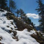 Wenig Schnee auf der Südseite ©Gipfelfieber