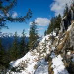 Eiszapfen über dem Steig ©Gipfelfieber