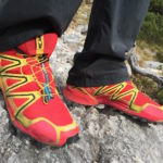 Salomon Speedcross 3 in Rot © Gipfelfieber