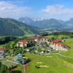 Hotel Peternhof von oben ©Hotel Peternhof/Tirol/A