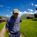 David Zippert erzählt über sein Almleben ©Gipfelfieber