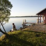 Nach der Sauna ©Visit Finland/Photographer: Hannu Holopainen