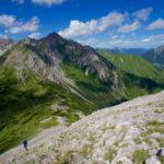Aufstieg vom Bichlbächler Jöchle ©Gipfelfieber