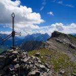 Die Gipfelkreuze der Gartner Wand ©Gipfelfieber