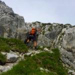 Felsdurchsetztes Schrofengelände ©Gipfelfieber