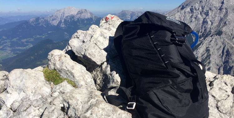 Rucksack für Tagestour: Gregory Verte Daypack im Test & Verlosung ©Gipfelfieber