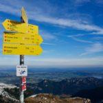 Blick hinab nach Bayern ©Gipfelfieber