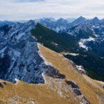 Aufstiegsweg und Übergang zum Brentenjoch ©Gipfelfieber
