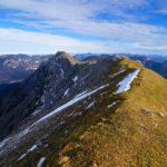 November: Am Kuchelberggrat in den Ammergauer Alpen ©Gipfelfieber