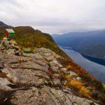 Blick in den Ākrafjord ©Gipfelfieber