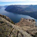 Der Preikestolen über dem Lysefjord ©Gipfelfieber