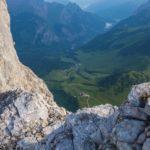Tiefblick zur Falkenhütte ©Gipfelfieber