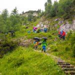 Abstieg über den Reitsteig ©Gipfelfieber