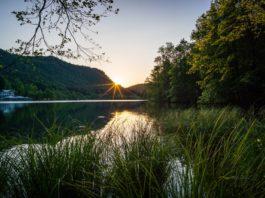 Sonnenaufgang am Thumsee ©Gipfelfieber